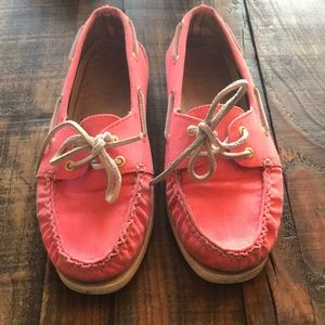 Sperry Top-Sider pink women's Boat Shoe